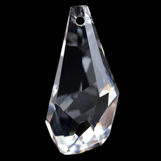 Drops Polygon Pingente Swarovski art. 6015 Cristal 50mm