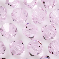 Balao LDI Cristais art. 45169 Light Rose 4mm