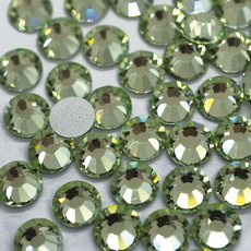 Strass Chaton Viva 12 Preciosa art. 438 11 612 NO HF Chrysolite SS20 4,60mm