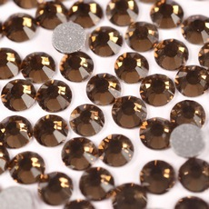 Strass Chaton Viva 12 Preciosa art. 438 11 612 NO HF Smoked Topaz SS12 3,00mm