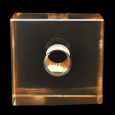 Cubo K9 LDI Cristais art. 34 Cristal Honey 35x35x15mm