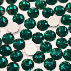 Strass Chaton Viva 12 Preciosa art. 438 11 612 NO HF Emerald SS16 3,80mm