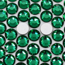 Strass Chaton Viva 12 Preciosa art. 438 11 612 NO HF Emerald SS34 7,00mm