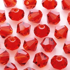 Balao LDI Cristais art. 45169 Scarlet 4mm