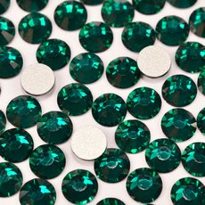 Strass Chaton Viva 12 Preciosa art. 438 11 612 NO HF Emerald SS10 2,70mm