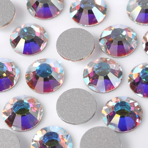 Strass Chaton Viva 12 Preciosa art. 438 11 612 NO HF Cristal Aurora Boreal New SS16 3,80mm