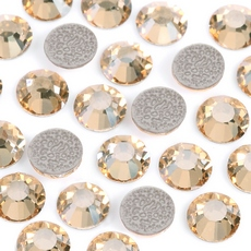 Strass Chaton Viva 12 Preciosa art. 438 11 612 HF Cristal Golden Honey SS20 4,60mm