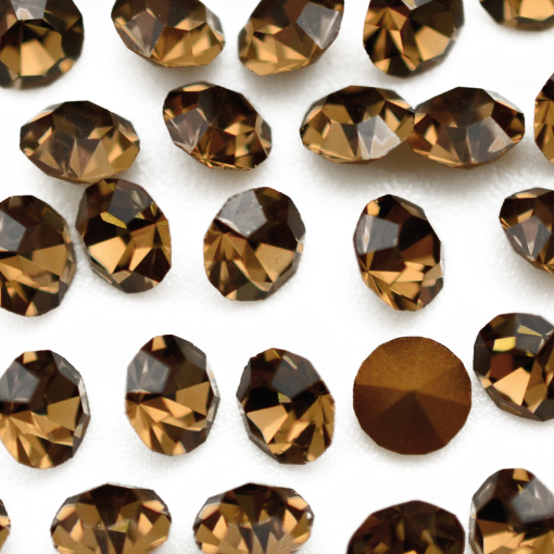 Strass LDI Collection base conica Smoked Topaz SS 8,5  2,40mm