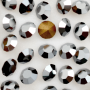 Strass LDI Collection base conica Jet Hematite SS14,5  3,50mm