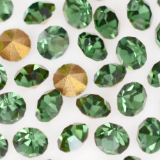 Strass LDI Collection base conica Green Turmaline SS12  3,00mm